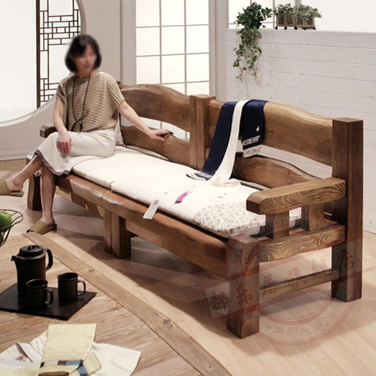 实木沙发全实木三人客厅组合家具新中式木沙发现代组合纯实木定制