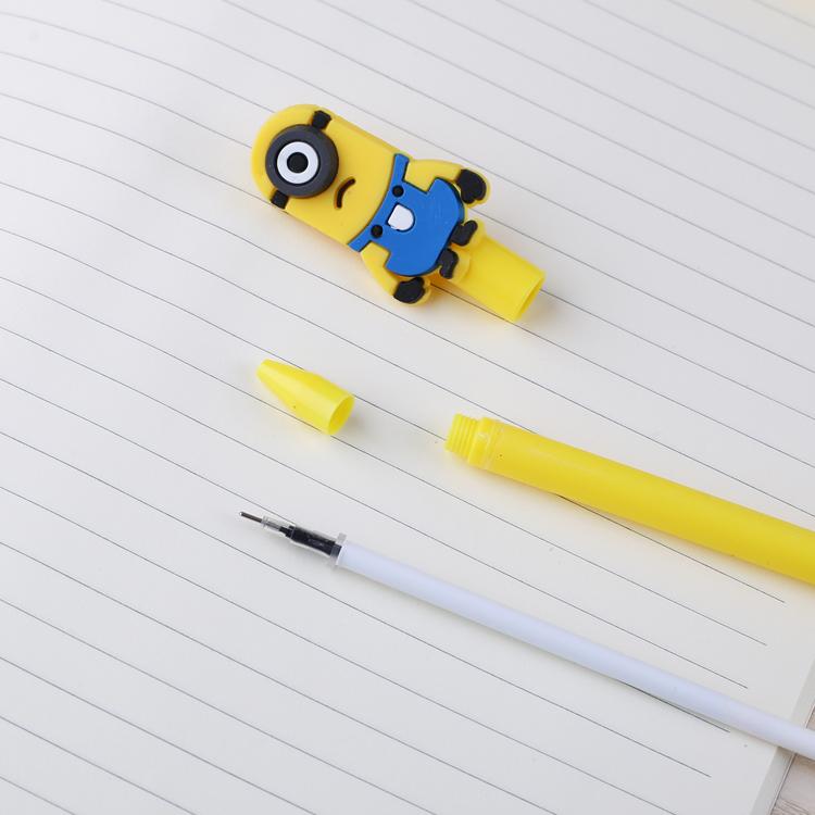 韩国小清新可爱中性笔 韩版学生用创意萌好看黑色碳素笔文具 批发