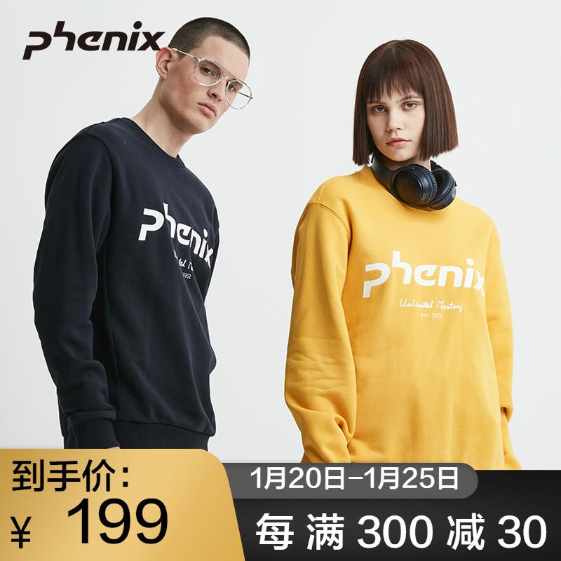 清仓 日本 菲尼克斯 Phenix 19款 男女加厚防风针织卫衣