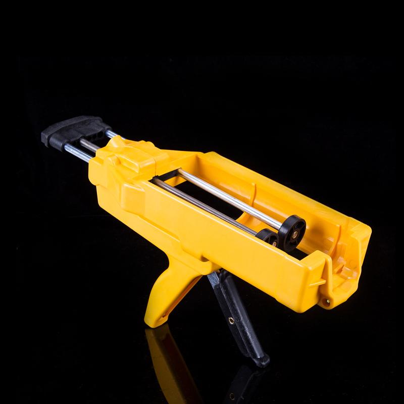 包邮AB胶枪50ML金属扣胶枪diy手动打胶枪10:11:1AB胶水通用胶枪