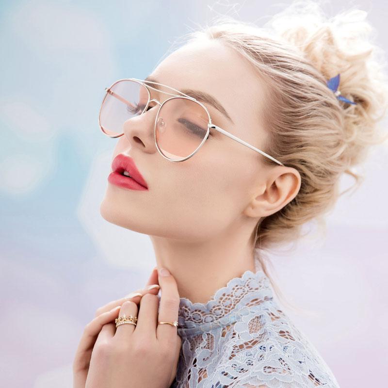 防紫外线太阳镜女潮圆脸明星款墨镜韩版复古原宿眼镜2019网红同款