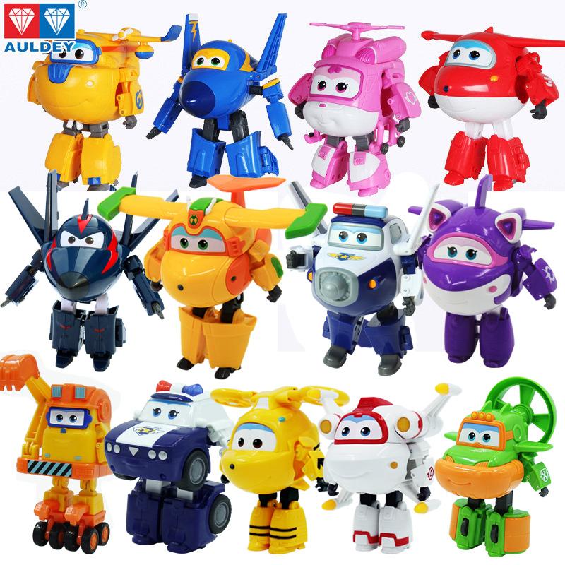 超级飞侠玩具套装全套大号乐迪小爱巴奇变形机器人包警长多多男孩