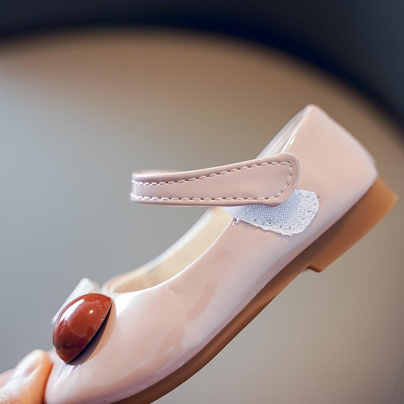 女童皮鞋2020夏季新款单鞋时尚童鞋儿童优雅公主鞋女孩软底学生鞋【图4】