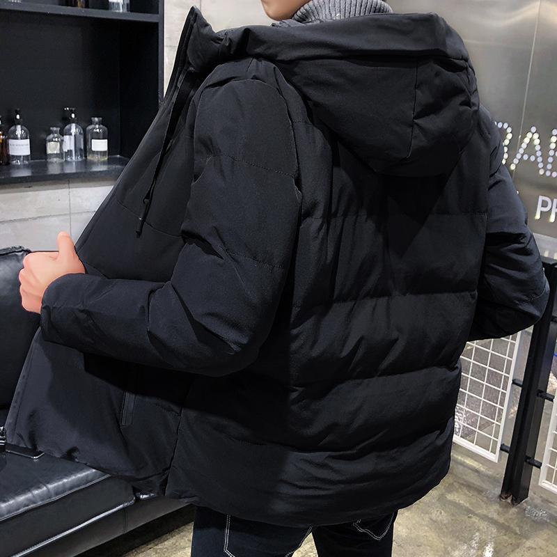 男士外套冬季衣服男装2018棉衣男韩版潮流休闲学生棉服短款棉袄子