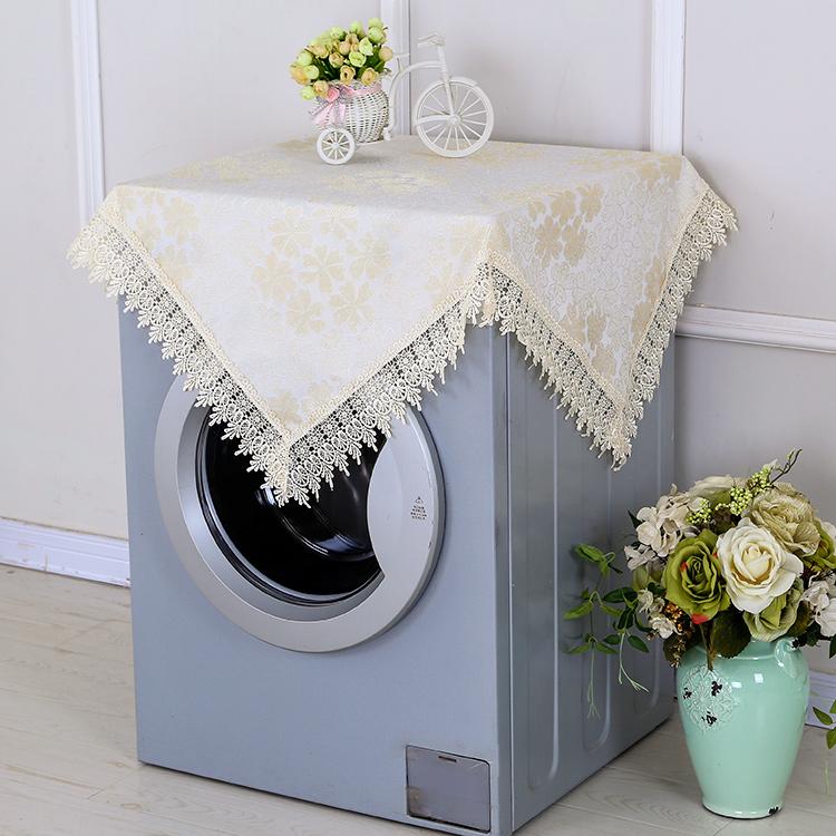 松下波轮洗衣机罩全自动海尔上开洗衣机盖布防水布滚筒全自动蕾丝
