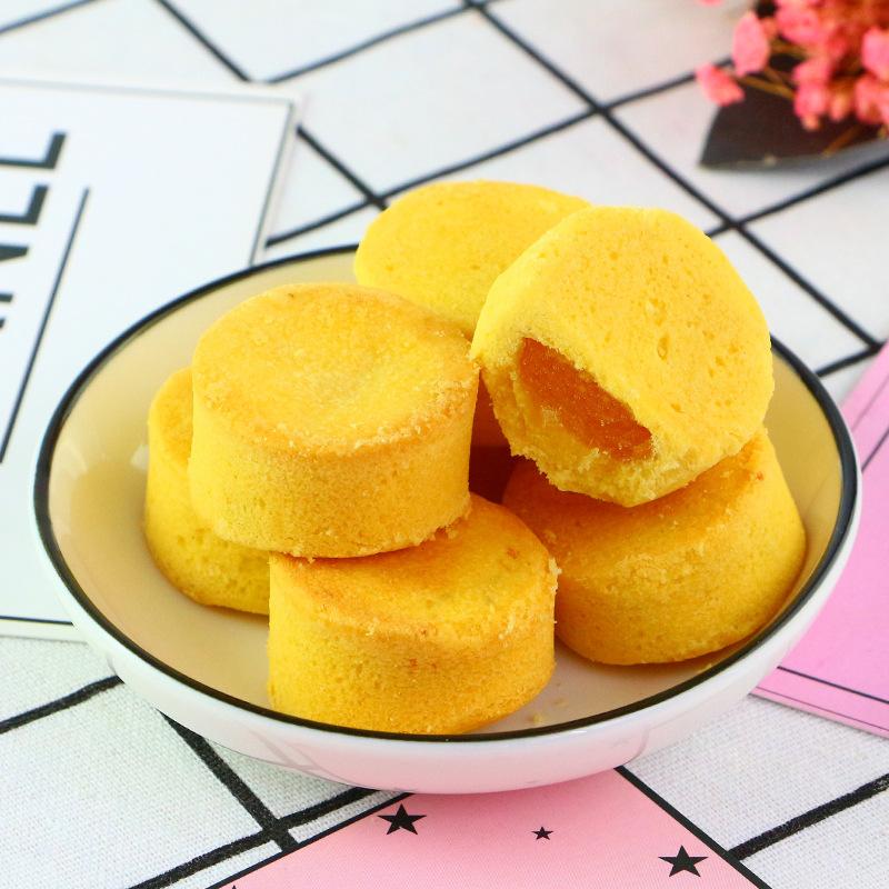 台湾传统风味凤梨酥200g圆形盒装糕点心福建地方特产水果酥送礼