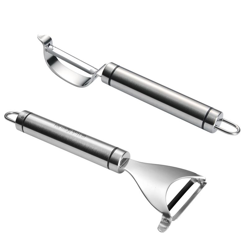 德国304不锈钢削皮神器水果刀刨刀多功能厨房刮皮刀土豆削皮刀