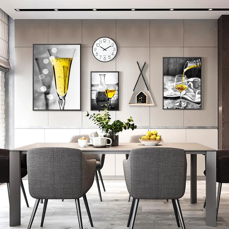 北欧风格客厅装饰画组合画个姓创意挂画沙发背景墙画现代简约壁画
