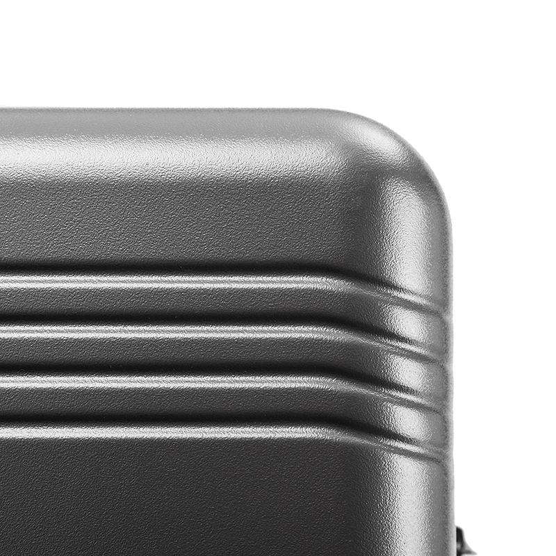 拉链款高颜值拉杆箱结实耐用抗压轻便 24 行李箱女小日 PC 超静音白色