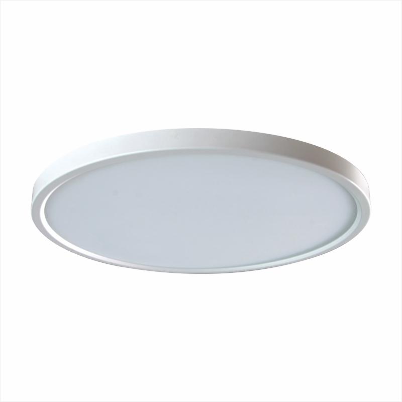 无频闪客厅餐厅卧室北欧简约现代 2cm 超薄 led 德朗司护眼吸顶灯圆形