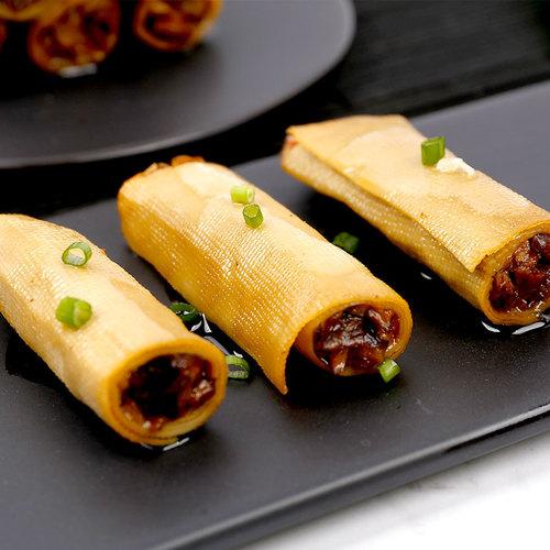 渝美滋 250g香菇夹心豆卷豆干豆腐干小包装零食散装小吃