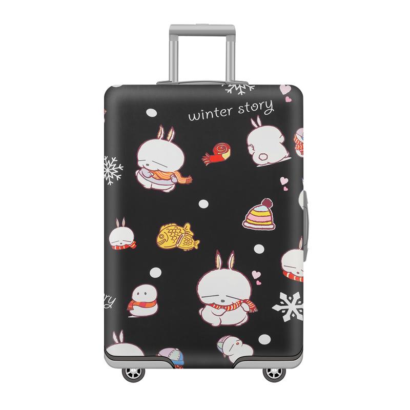 弹力行李箱保护套旅行箱套拉杆箱子防尘罩20/24/28/30寸加厚防水