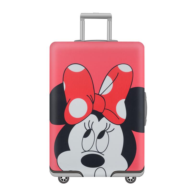 弹力行李箱保护套旅行箱拉杆箱套子防尘套20/24/26/28寸加厚耐磨