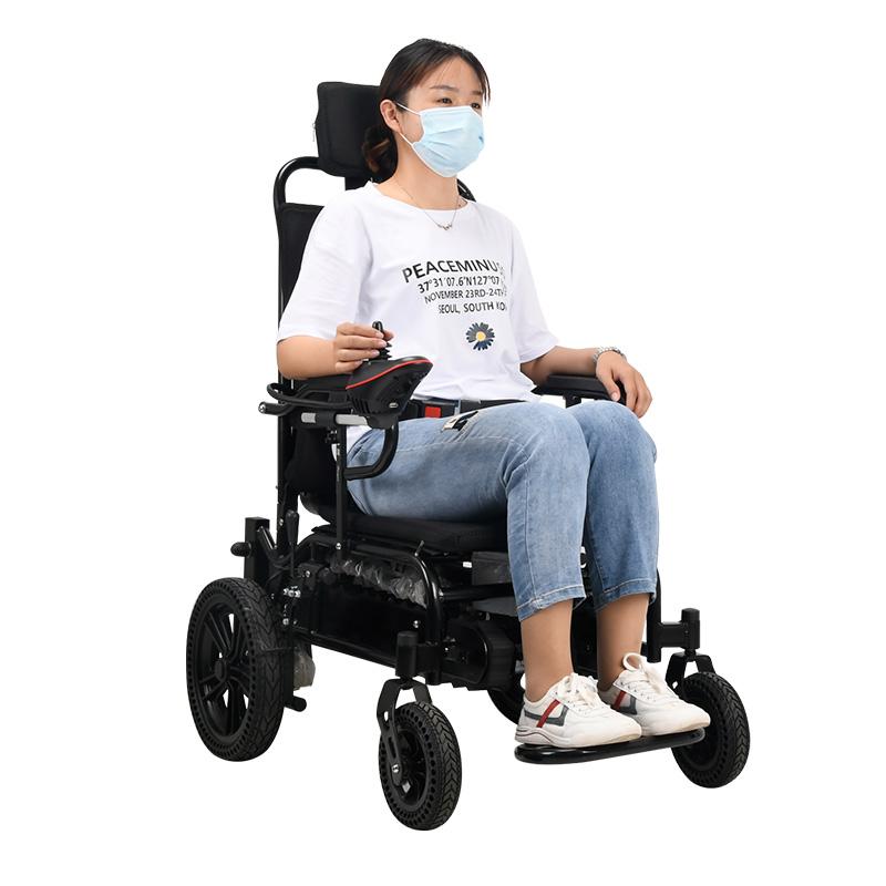 电动爬楼轮椅履带智能上下楼梯爬楼梯轮椅老人上楼梯车折叠爬楼机