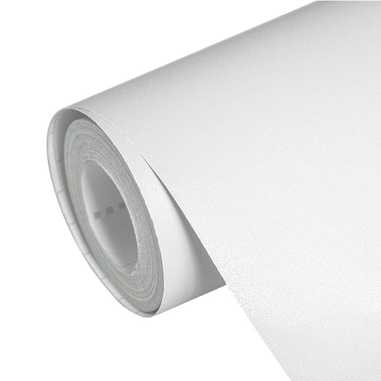 米純白色現代簡約 10 墻紙自粘臥室溫馨壁紙宿舍大學生防水 pvc 加厚