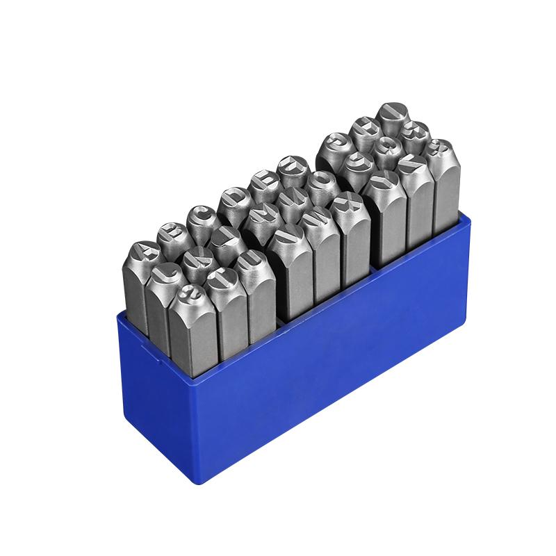 藤原字模钢印 钢字码冲子0-10mmAZ钢印钢号码数字符号英文钢字母