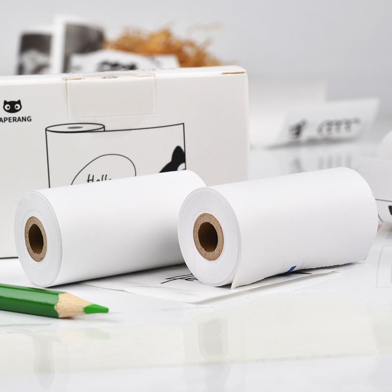 PAPERANG喵喵机官方普通热敏打印纸57*30mm热敏纸错题打印纸 手账打印纸