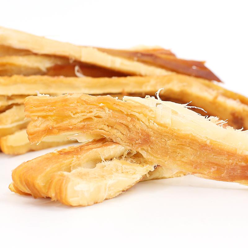 自鱿人鱿鱼丝500g青岛特产碳烤手撕鱿鱼条片干散装海味零食小吃