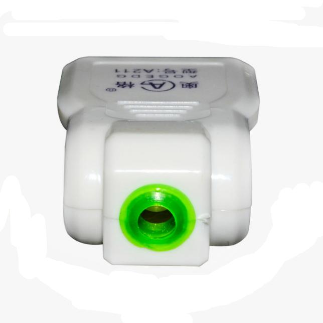 孔无线防水箱电源插头插座 2 免焊接线监控二脚母插座 10A 个包邮 5