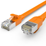 Choseal / Akihabara QS676 Seven types of flat cable type cat7 home broadband cable high-speed computer networks
