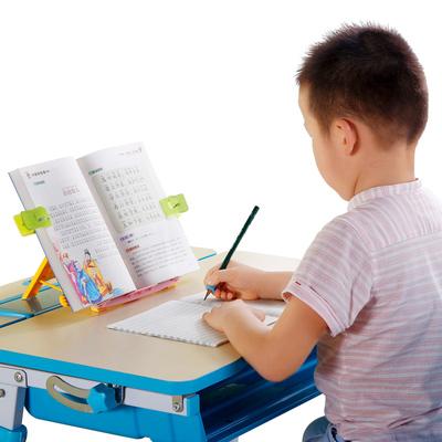 读书架简易桌上阅读架儿童小学生成人多功能书夹书靠书立架看书架小图5