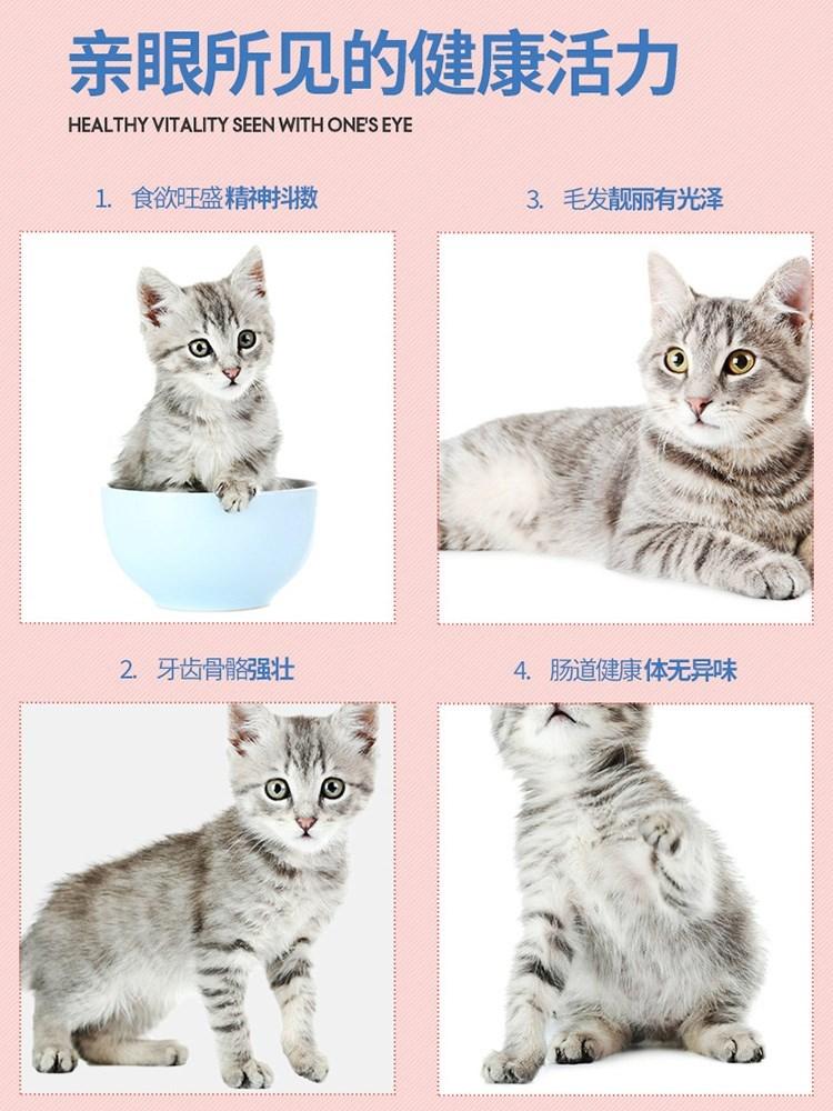 优趣猫粮幼猫粮1-4月奶糕离乳期营养1-12月小猫咪增肥发腮赠后5斤优惠券