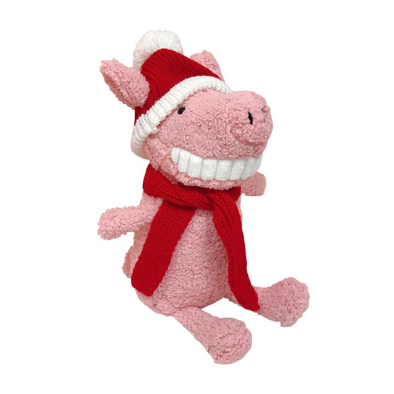 可爱小猪玩偶送围巾送女生女友闺蜜生日新年礼物 少女心放映室