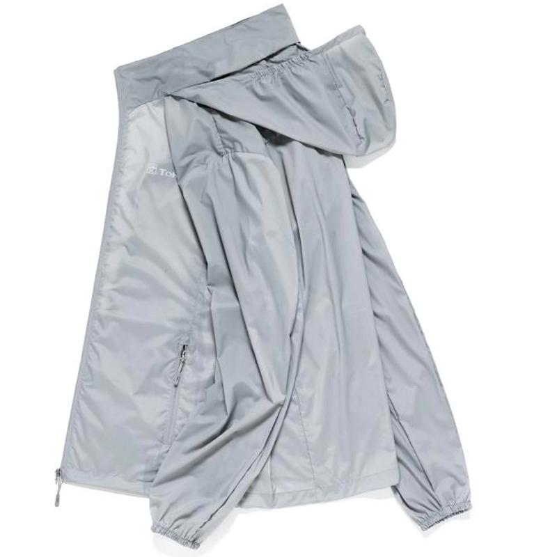 探步者户外防晒衣男女皮肤运动风衣弹力透气防水防紫外钓鱼空调衫