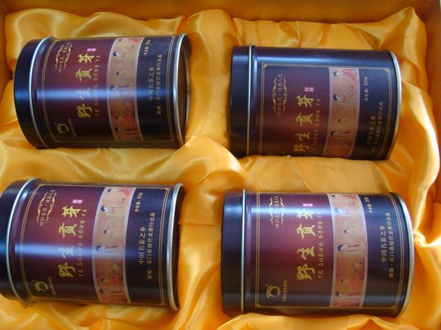 克礼品装 200 年石门特产湖南著名商标桩巴龙野生贡芽 2018 包邮