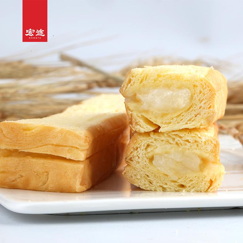 宏途小饿小满足 夹心吐司面包网红零食营养早餐西式糕点整箱500g No.2