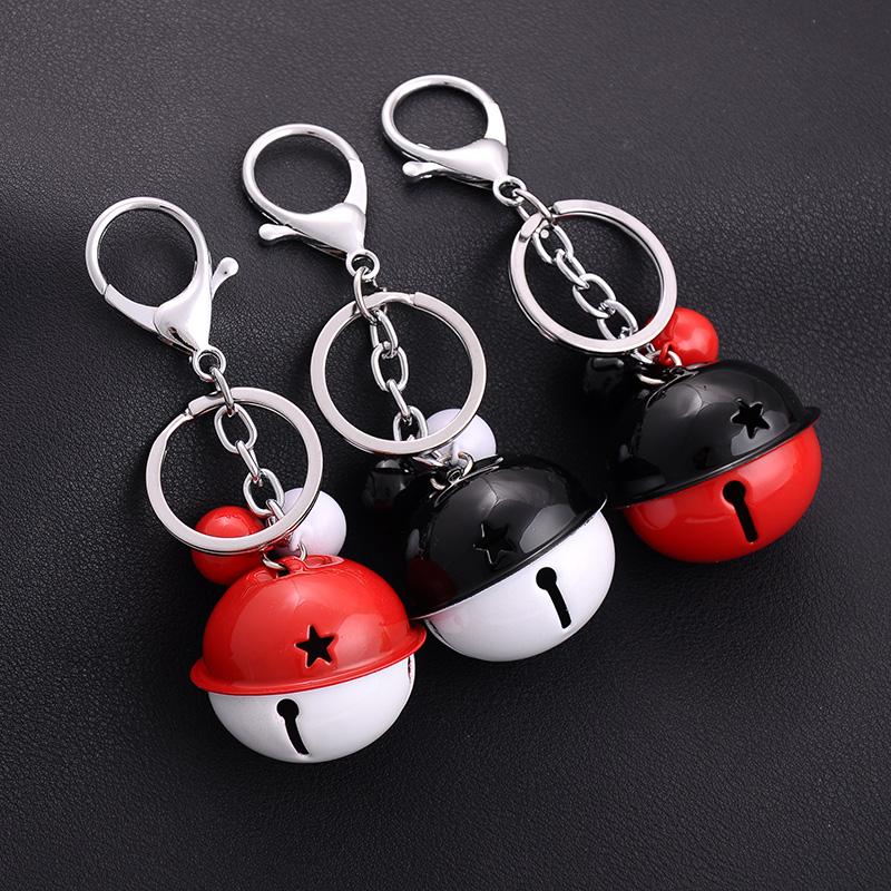 新品节日礼物铃铛钥匙扣时尚包包挂件防盗铃铛挂饰配件汽车钥匙链