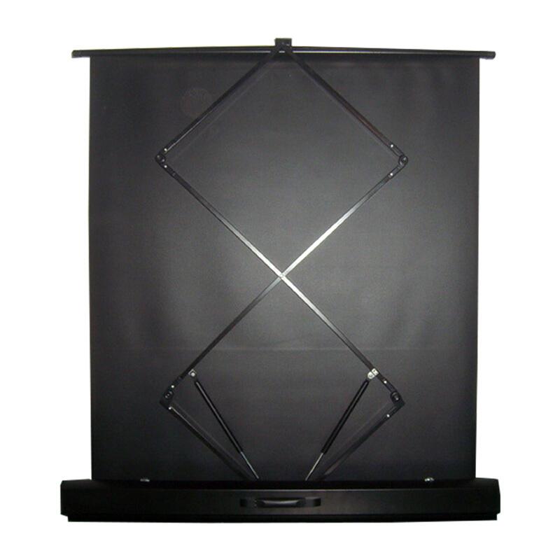坚果投影仪幕布地拉幕布100英寸16:9投影机白玻纤移动便携式幕布