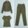 迷彩服套装女秋季2021新款时尚显瘦大码女士军装户外运动三件套潮 mini 4