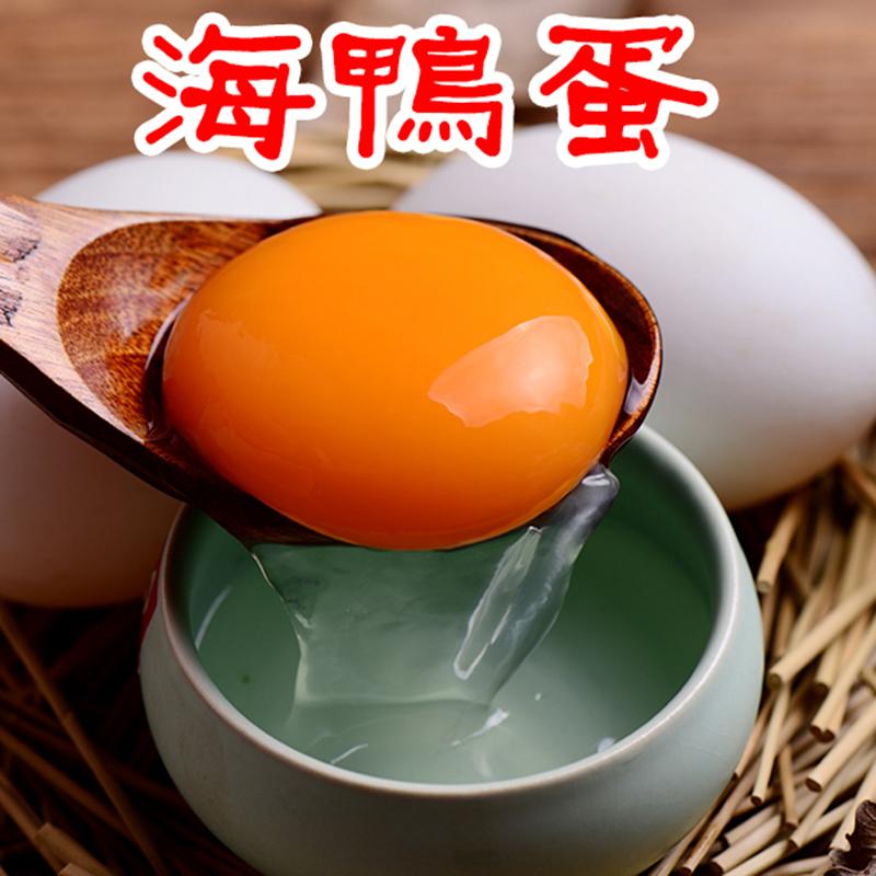 老广西味道还珠湾60个新鲜生海鸭蛋广西北部海湾红矮树林青皮鸭蛋