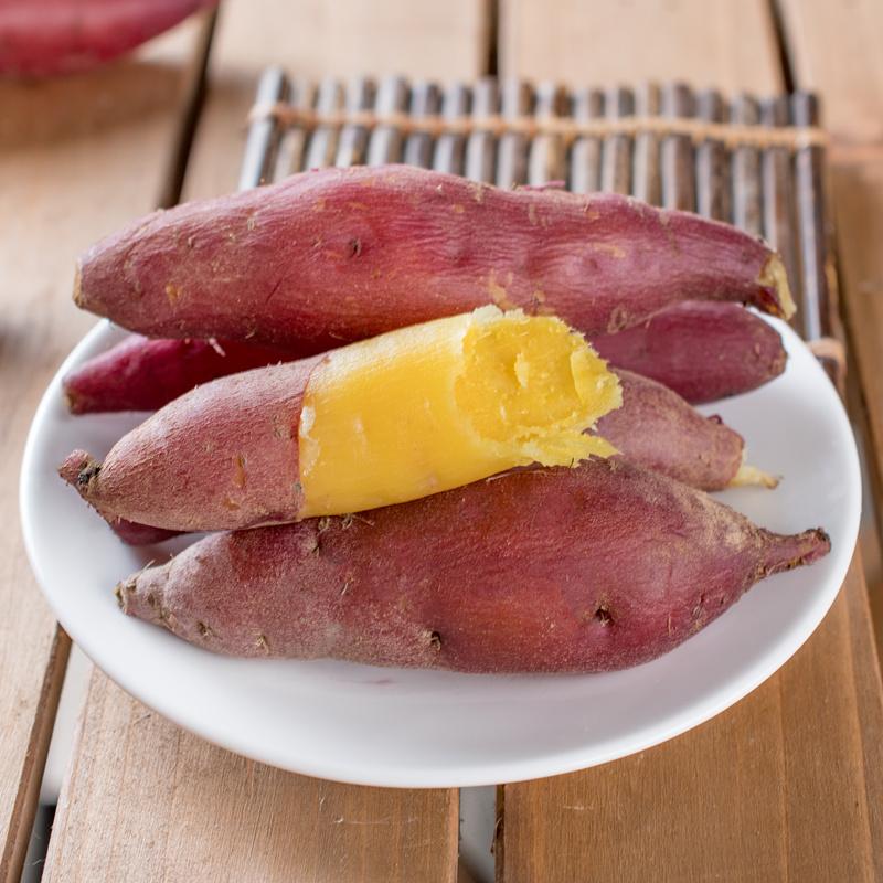 天目山小香薯 临安农家红薯新鲜蔬菜番薯板栗山芋地瓜5斤紫薯蜜薯