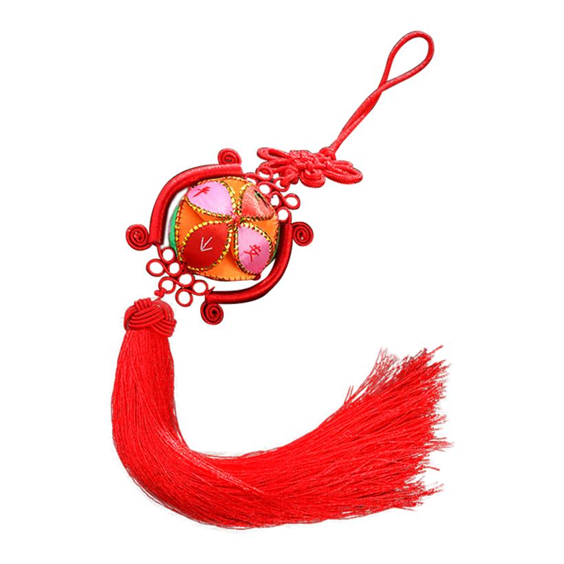 绣球广西壮族靖西旧州热销原创设计纯手工民族工艺品汽车挂件挂饰