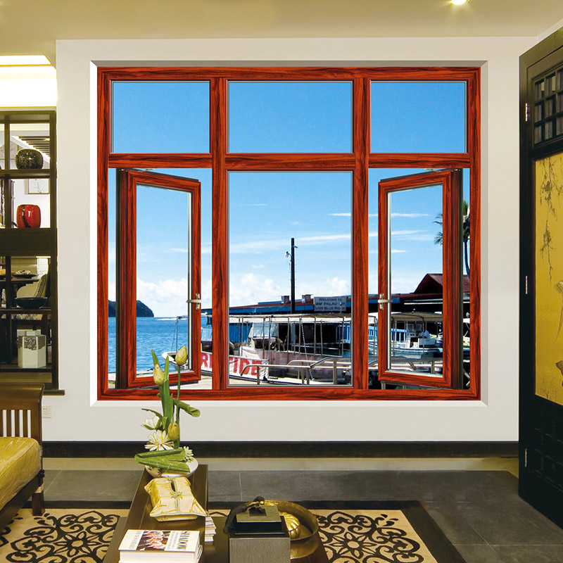 斯卡特断桥铝门窗定制封阳台 金刚网纱窗一体 铝合金窗户落地窗户