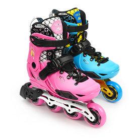 瑞士micro迈古溜冰鞋儿童平花鞋专业轮滑鞋初学全套旱冰鞋男女S6