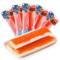 日本进口水产零食 丸字蟹柳味鱼肉棒 北海道即食蟹味肉棒45g 4631