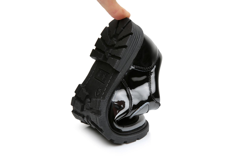卡努2019春夏男童黑色皮鞋演出鞋学生鞋真皮皮鞋礼仪鞋英伦风童