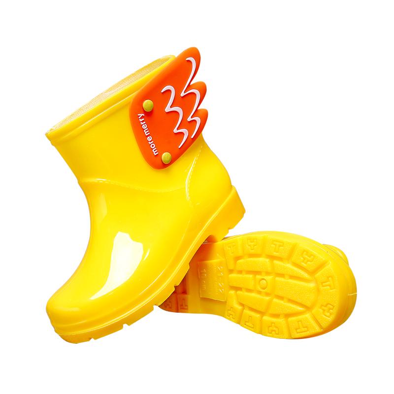 儿童雨鞋女童防滑水鞋小孩幼儿园小童雨鞋防水小学生男童宝宝雨靴