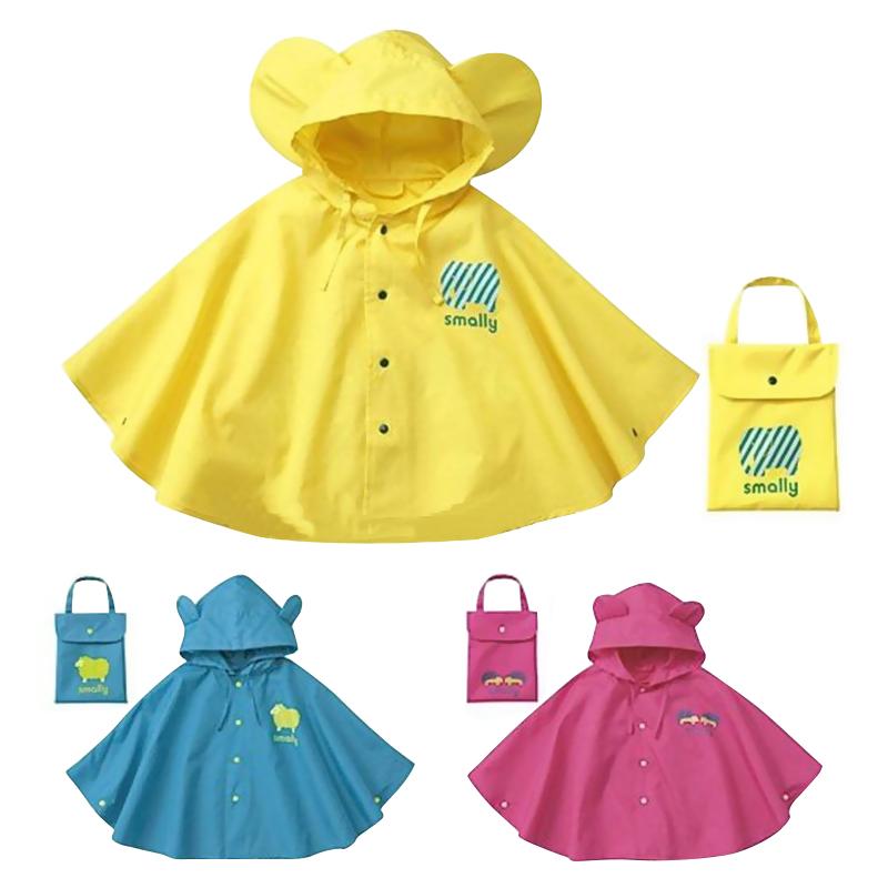 儿童雨衣女童宝宝亲子雨披斗篷式幼儿园小孩小学生书包位男童雨衣