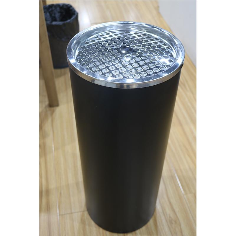 南方不锈钢丽格烟灰桶大堂通道立式圆形带内桶果皮箱不锈钢垃圾桶