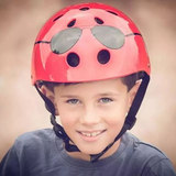 British MINI HORNIT children's scooter helmet bicycle sports protective gear riding artifact