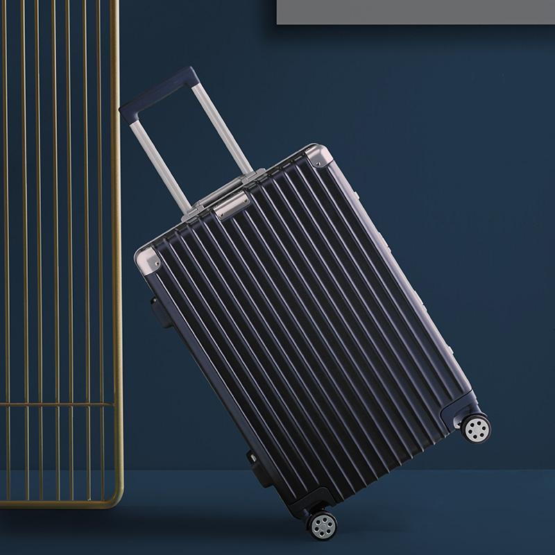 淘宝心选铝框拉杆箱行李箱 女男旅行箱万向轮密码箱20寸24寸26寸