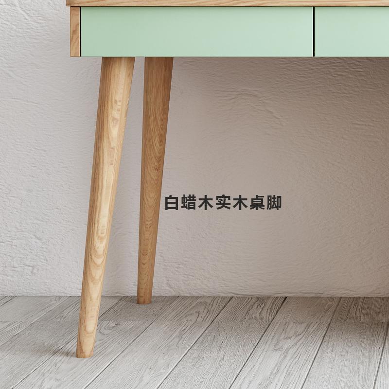 北欧卧室梳妆台收纳柜一体现代简约小户型网红简易迷你化妆台书桌