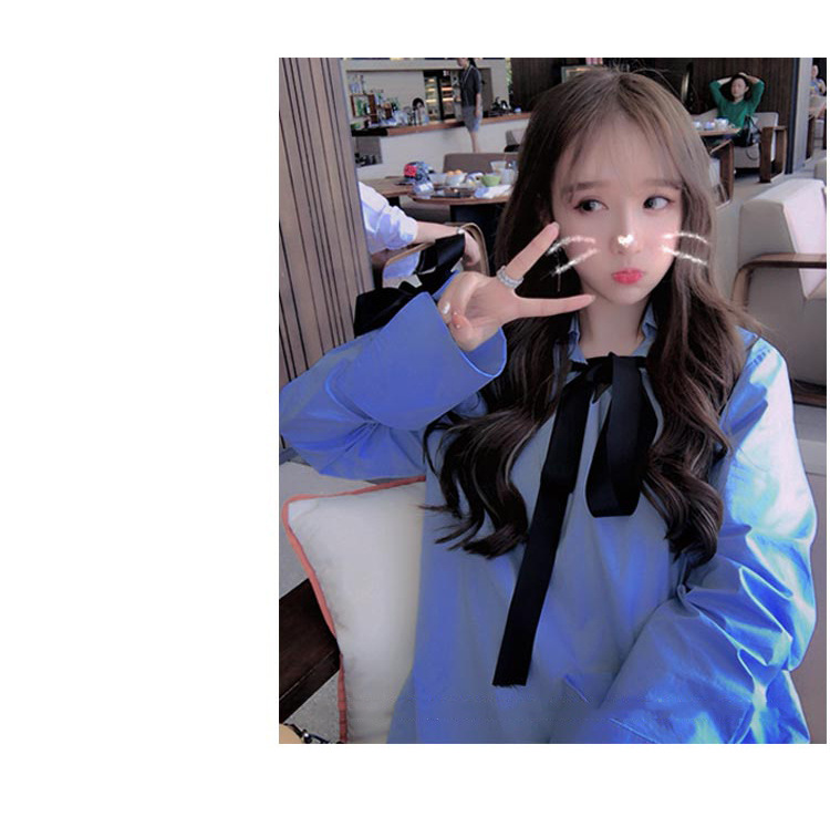 2018秋装新款女装韩版chic风港味学生bf软妹社会女两件套装时尚潮