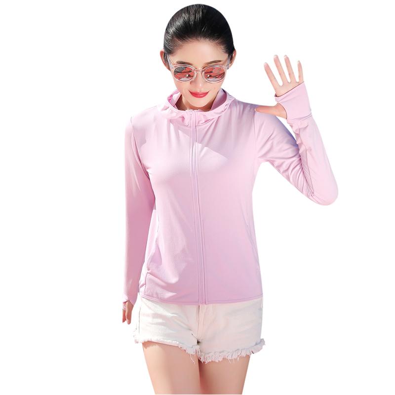 日本防晒衣女夏季防紫外线透气超薄皮肤运动户外防风衣速干外套衫