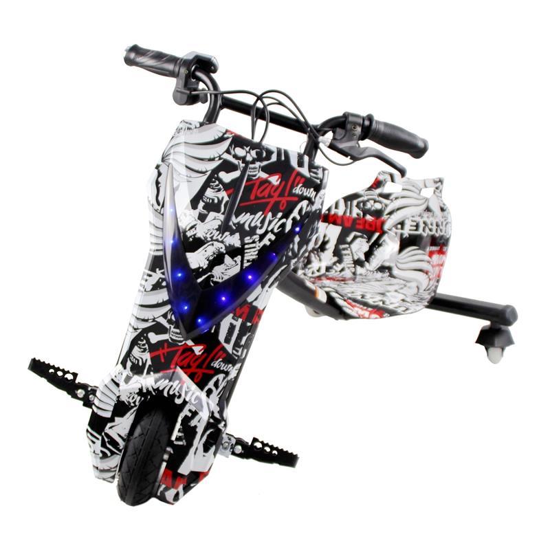 漂旋风儿童电动漂移车成人迷你三轮车儿童玩具车电动扭扭车滑板车