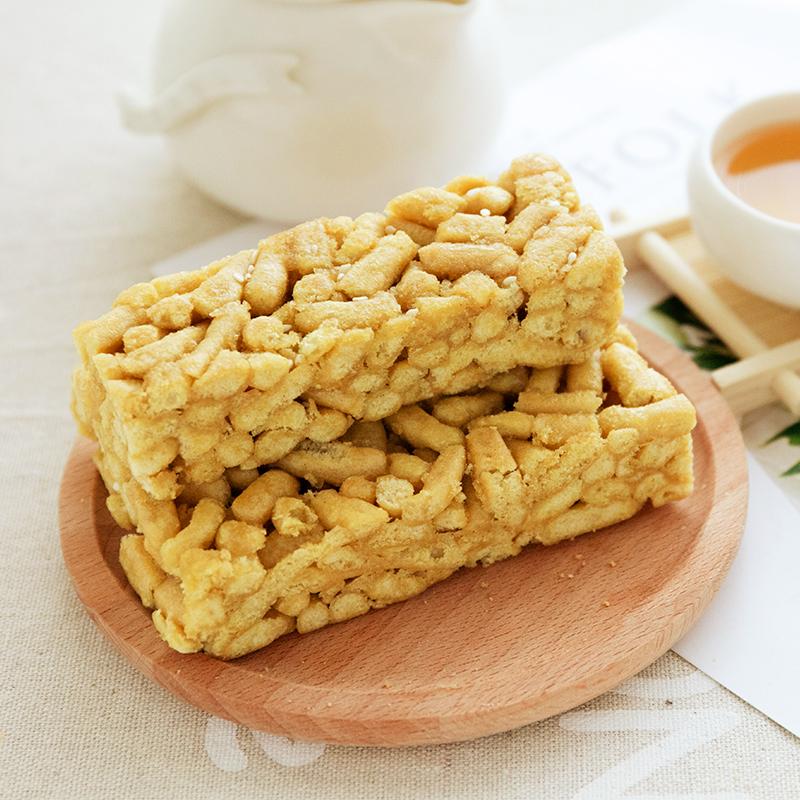 金品福苦荞沙琪玛无糖精食品糖尿人零食整箱软糯孕妇老人低糕点脂